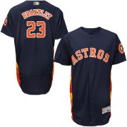 Wholesale Cheap Astros #23 Michael Brantley Navy Blue Flexbase Authentic Collection Stitched MLB Jersey