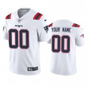 Wholesale Cheap New England Patriots Custom Men's Nike White 2020 Vapor Limited Jersey