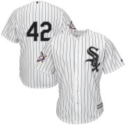 Wholesale Cheap Chicago White Sox #42 Majestic 2019 Jackie Robinson Day Official Cool Base Jersey White