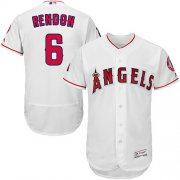 Wholesale Cheap Angels of Anaheim #6 Anthony Rendon White Flexbase Authentic Collection Stitched MLB Jersey