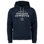 Wholesale Cheap Dallas Cowboys Nike Stadium Classic Club Fleece Pullover Hoodie Navy