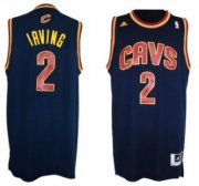 Wholesale Cheap Cleveland Cavaliers #2 Kyrie Irving Revolution 30 Swingman Navy Blue Jersey