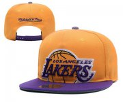Wholesale Cheap NBA Los Angeles Lakers Snapback Ajustable Cap Hat XDF 007