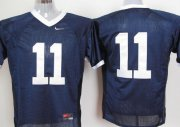 Wholesale Cheap Penn State Nittany Lions #11 Navy Blue Jersey
