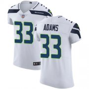 Wholesale Cheap Nike Seahawks #33 Jamal Adams White Men's Stitched NFL New Elite Jersey