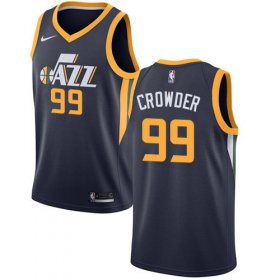 Wholesale Cheap Nike Jazz #99 Jae Crowder Navy NBA Swingman Icon Edition Jersey