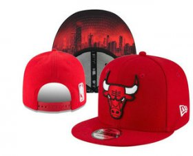 Wholesale Cheap Chicago Bulls Snapback Snapback Ajustable Cap Hat YD 4