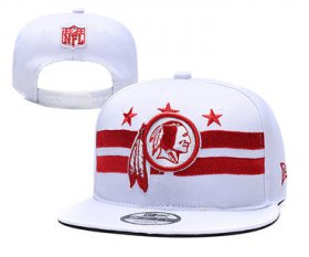 Wholesale Cheap Redskins Team Logo White 2019 Draft Adjustable Hat YD