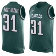Wholesale Cheap Nike Eagles #31 Nickell Robey-Coleman Green Team Color Men's Stitched NFL Limited Tank Top Jersey