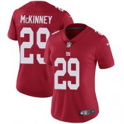 Wholesale Cheap Nike Giants #29 Xavier McKinney Red Alternate Women's Stitched NFL Vapor Untouchable Limited Jersey