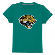 Wholesale Cheap Jacksonville Jaguars Sideline Legend Authentic Logo Youth T-Shirt Green