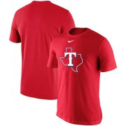 Wholesale Cheap Texas Rangers Nike Batting Practice Logo Legend Performance T-Shirt Red