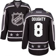 Wholesale Cheap Kings #8 Drew Doughty Black 2017 All-Star Pacific Division Stitched Youth NHL Jersey