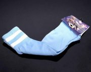 Wholesale Cheap Soccer Football Sock Sky Blue