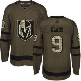 Wholesale Cheap Adidas Golden Knights #9 Cody Glass Green Salute to Service Stitched Youth NHL Jersey