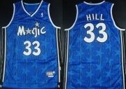 Wholesale Cheap Orlando Magic #33 Grant Hill Blue All-Star Swingman Throwback Jersey