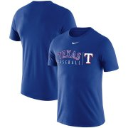 Wholesale Cheap Texas Rangers Nike MLB Practice T-Shirt Royal
