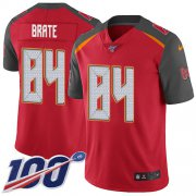 Wholesale Cheap Nike Buccaneers #84 Cameron Brate Red Team Color Men's Stitched NFL 100th Season Vapor Untouchable Limited Jersey