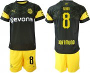 Wholesale Cheap Dortmund #8 Sahin Away Soccer Club Jersey