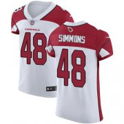 Wholesale Cheap Nike Cardinals #48 Isaiah Simmons White Men's Stitched NFL New Elite Jersey
