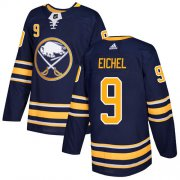 Wholesale Cheap Adidas Sabres #9 Jack Eichel Navy Blue Home Authentic Stitched NHL Jersey