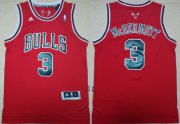 Wholesale Cheap Chicago Bulls #3 Doug McDermott Revolution 30 Swingman Red Jersey