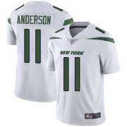 Wholesale Cheap Nike Jets #11 Robby Anderson White Youth Stitched NFL Vapor Untouchable Limited Jersey