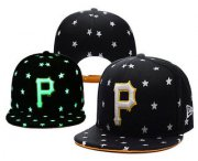 Wholesale Cheap MLB Pittsburgh Pirates Snapback Ajustable Cap Hat 1