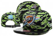 Wholesale Cheap NBA Oklahoma City Thunder Snapback Ajustable Cap Hat XDF 035
