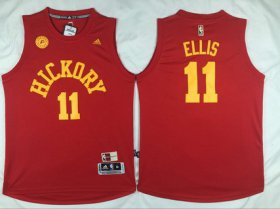 Wholesale Cheap Men\'s Indiana Pacers #11 Monta Ellis Revolution 30 Swingman 2015-16 Retro Red Jersey