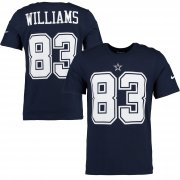 Wholesale Cheap Dallas Cowboys #83 Terrance Williams Nike Player Pride Name & Number T-Shirt Navy