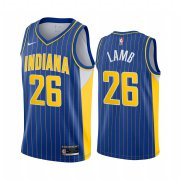 Wholesale Cheap Nike Pacers #26 Jeremy Lamb Blue NBA Swingman 2020-21 City Edition Jersey