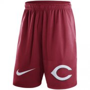 Wholesale Cheap Men's Cincinnati Reds Nike Red Dry Fly Shorts