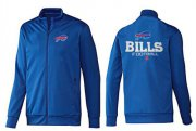 Wholesale Cheap NFL Buffalo Bills Victory Jacket Blue_1