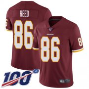 Wholesale Cheap Nike Redskins #86 Jordan Reed Burgundy Red Team Color Men's Stitched NFL 100th Season Vapor Limited Jersey
