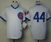 Wholesale Cheap Cubs #44 Anthony Rizzo White 1988 Turn Back The Clock Stitched MLB Jersey