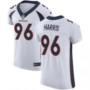 Wholesale Cheap Nike Broncos #96 Shelby Harris White Men's Stitched NFL New Elite Jersey