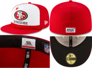 Wholesale Cheap San Francisco 49ers fitted hats26