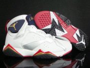 Wholesale Cheap Air Jordan 7 Retro Shoes Silver/White/Blue