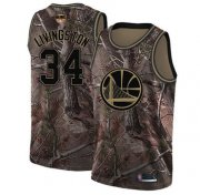 Wholesale Cheap Warriors #34 Shaun Livingston Camo 2019 Finals Bound Basketball Swingman Realtree Collection Jersey