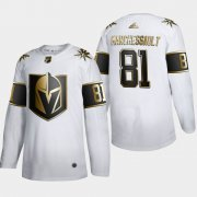 Wholesale Cheap Vegas Golden Knights #81 Jonathan Marchessault Men's Adidas White Golden Edition Limited Stitched NHL Jersey