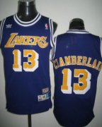 Wholesale Cheap Los Angeles Lakers #13 Wilt Chamberlain Purple Swingman Throwback Jersey