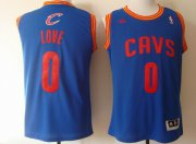 Wholesale Cheap Cleveland Cavaliers #0 Kevin Love Revolution 30 Swingman Light Blue Jersey