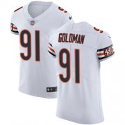 Wholesale Cheap Nike Bears #91 Eddie Goldman White Men's Stitched NFL Vapor Untouchable Elite Jersey