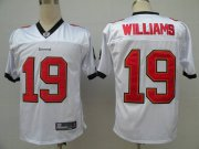 Wholesale Cheap Buccaneers #19 Mike Williams White Stitched NFL Jersey