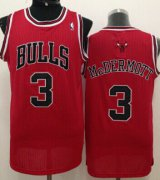 Wholesale Cheap Chicago Bulls #3 Doug McDermott Red Swingman Jersey