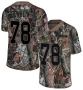 Wholesale Cheap Nike Browns #78 Jack Conklin Camo Youth Stitched NFL Limited Rush Realtree Jersey
