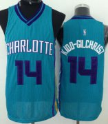 Wholesale Cheap Charlotte Hornets #14 Michael Kidd-Gilchrist Green Swingman Jersey