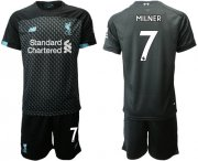 Wholesale Cheap Liverpool #7 Milner Third Soccer Club Jersey