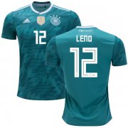 Wholesale Cheap Germany #12 Leno Away Kid Soccer Country Jersey